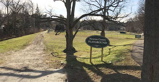 Photo of Newton Centre Dog Park